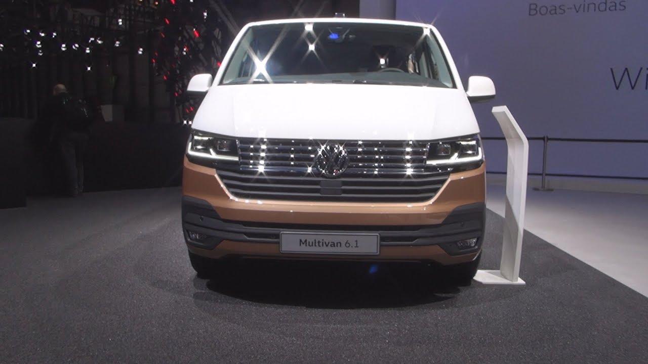 volkswagen transporter  multivan facelift  tdi  hp combi van  exterior