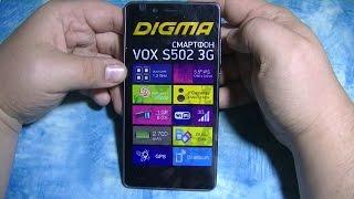 обзор на телефон DIGMA VOX S502 Что в моём телефоне?