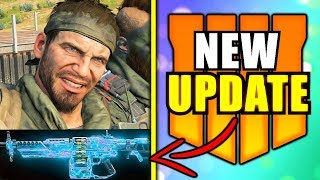 BLACK OPS 4: New Update CHANGED BO4 Again!! (rip armor & camos for BO4 Zombies)