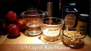 How To Make Apple Cinnamon Oatmeal - A Homemade Vegan Breakfast