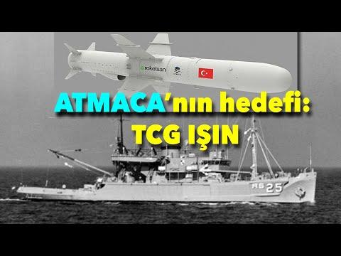 Atmaca'nın yeni hedefi: TCG Işın Gemisi #hakankılıç #tolgaözbek #atmaca