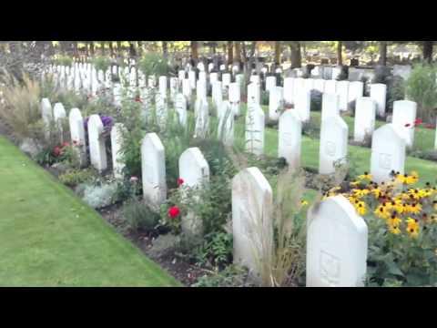 Cmentarz Lotników Polskich w Newark-on-Trent hr. Nottinghamshire (Anglia)