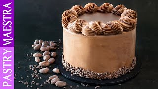 Devil's Food Cake (Chocolate Cake with Chocolate Buttercream and Ganache)
