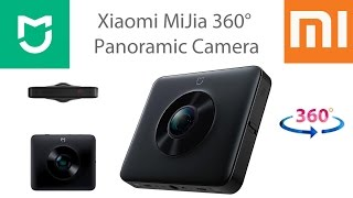 Xiaomi MiJia 360° Panoramic Camera - карманная камера для съемки панорамных видео