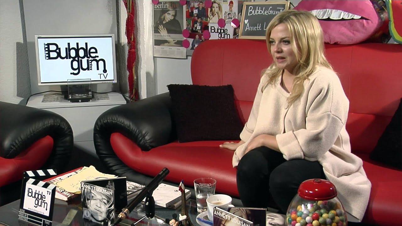 Annett Louisan Interview Bei Bubble Gum Tv Youtube