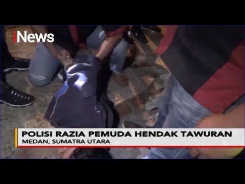 Polisi Ciduk Puluhan Remaja Hendak Tawuran Di Medan - Police Line 20/02