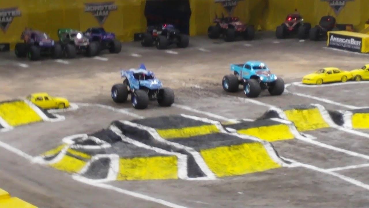 Monster Jam San Antonio 2019 Racing Finals Youtube