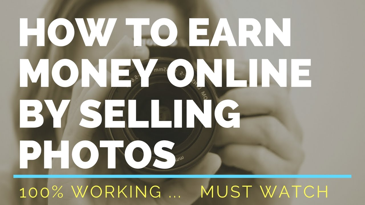 How to earn money online by selling photos hindi for How to make money selling t shirts online