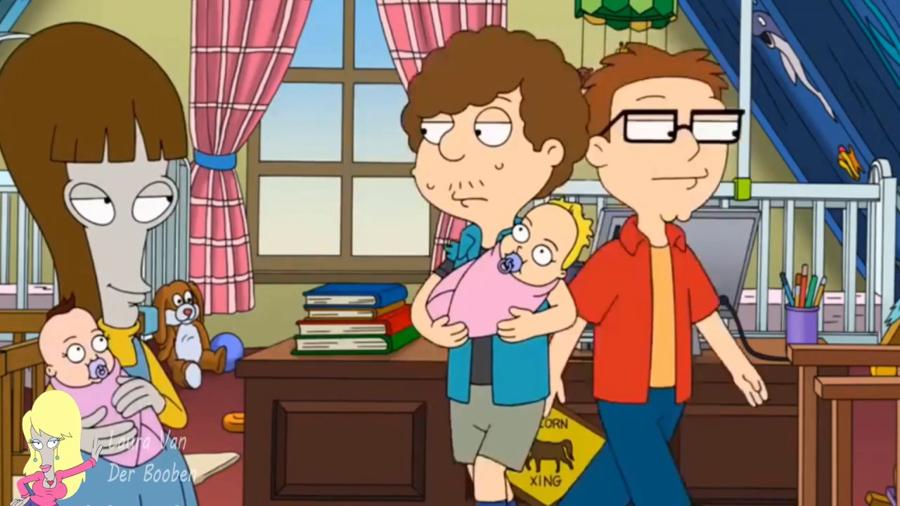 American Dad (HD) - Steve and Snot's Daughters - YouTube
