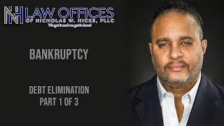 Attorney Nicholas W. Hicks- Debt Elimination, pt 1 The myths