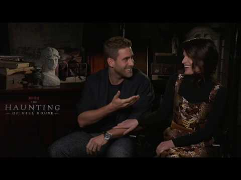 It Was Harrowing to Shoot - Elizabeth Reaser & Oliver Jackson-Cohen (The Haunting of Hill House)