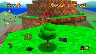 Super Mario 64 - Bob-omb Battlefield - All stars