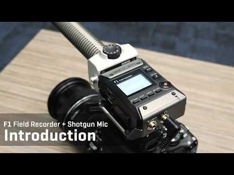 F1 Field Recorder + Shotgun Mic Introduction