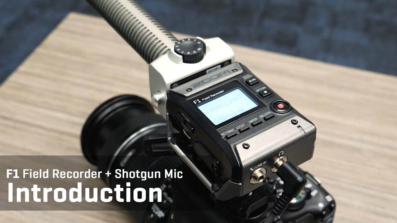 Zoom F1 Field Recorder+Shotgun Mic | Zoom
