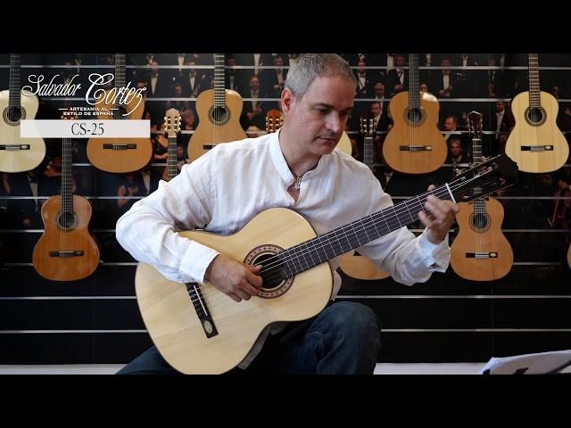 Salvador Cortez CS-25   Chitarra classica   Guitar test by Gabriele Curciotti