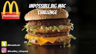 IMPOSSIBLE BIG MAC CHALLENGE DESTROYED *ME* | Bradley Chlopas