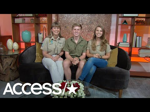 Terri Irwin Cracks Up Joking About Getting A Russell Crowe Inspired Tattoo!  Access