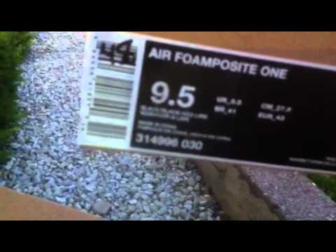 b1751992159f1c Nike air max penny and foamposite one neo lime - YouTube