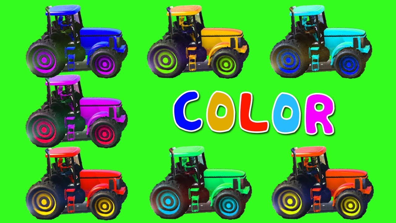 colors car cartoon in spiderman frozen batman for toddler