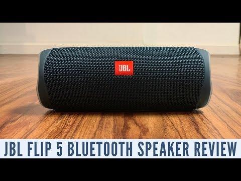JBL Flip 5 Bluetooth Speaker Review - YouTube