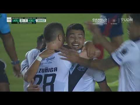 Gol De Celaya -Ricardo Marín Sánchez #19- ATLANTE Vs CELAYA /ascenso Mx