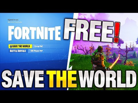 FREE Release Date 2018! | Best Estimate | Fortnite Save the World FREE!