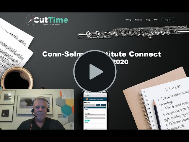 Conn Selmer Institute - Cut Time Presentation 2020