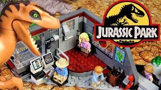 LEGO Jurassic World Охота на рапторов в Парке Юрского Периода 75932 Обзор Лего