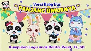 Panjang Umurnya ❤ Versi Babybus | Lagu anak ❤ Happy birthday song | Lagu ulang tahun