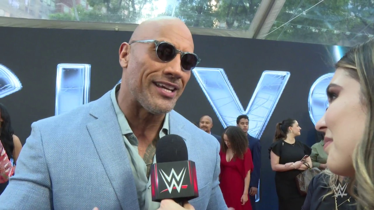 The Rock says he's teaching his daughter how to become a WWE Superstar