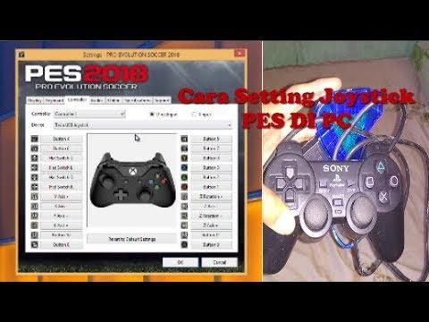 Cara Setting Joystick PES 2017,2018 ALL PES, Pro Evolution Soccer [100% Work]