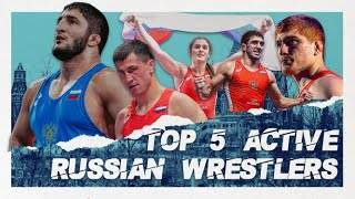 Top 5 Active Russian Wrestlers - United World Wres...
