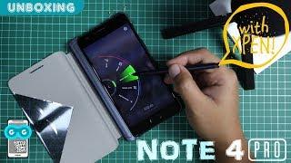 MUMPUNG TURUN HARGA, Unboxing & Hands-on Infinix Note 4 PRO + Ngetes XPen!