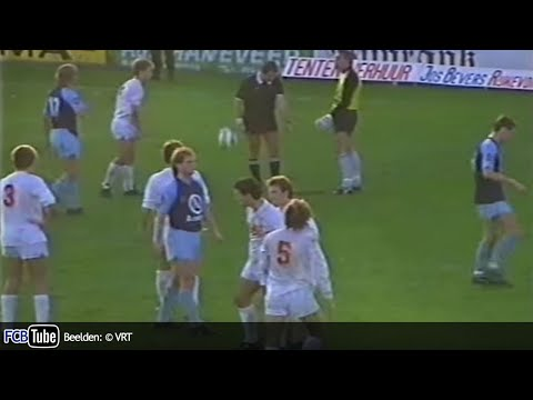 1988-1989 - Beker Van België - 02. 16de Finale - Hoogstraten VV - Club Brugge 1-3