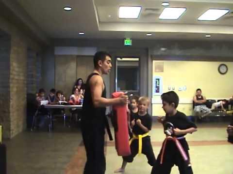 Los Altos Calif Karate Practice Young Champions of America 2014 08 ...