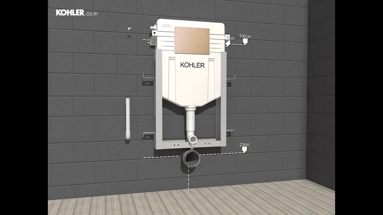 Instafit Installation Video By Kohler Youtube