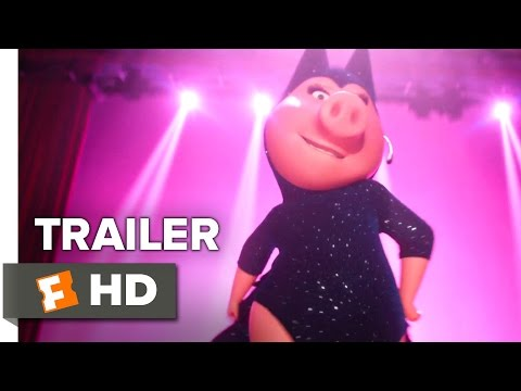 Sing Official Trailer 3 (2016) - Taron Egerton Movie