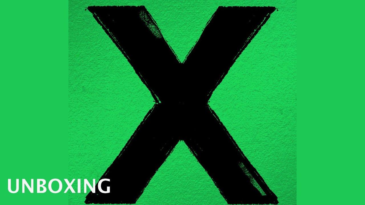 Ed Sheeran X Unboxing German Deutsch Youtube