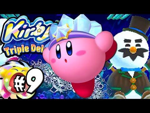 Kirby Triple Deluxe: Snowman's Land World 3 PART 9 Nintendo 3DS Gameplay Walkthrough Download
