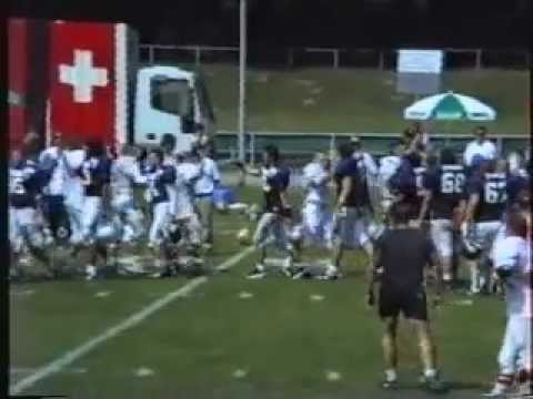 1996 American Football European Championship   Italy vs Swiss