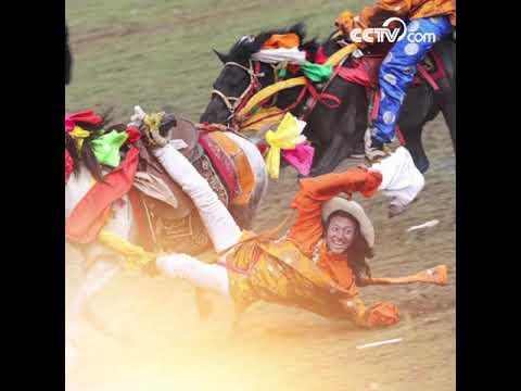 Litang Horse Racing Festival highlights| CCTV English