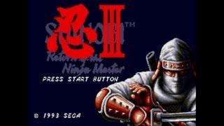 Shinobi 3 : Return Of The Ninja Master - Walkthrough (Sega Genesis)