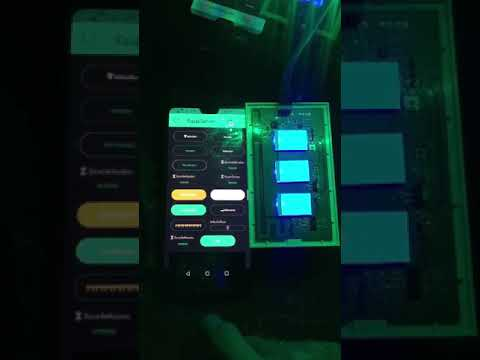Hacked Sonoff touch switch on Blynk