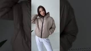 женская куртка с капюшоном номер 30