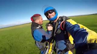 Tom Francis at Skydive Taupo