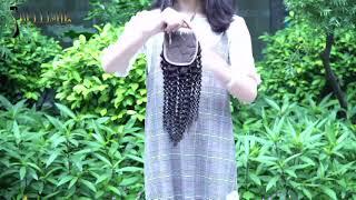 100% human hair weaves kinky 4x4