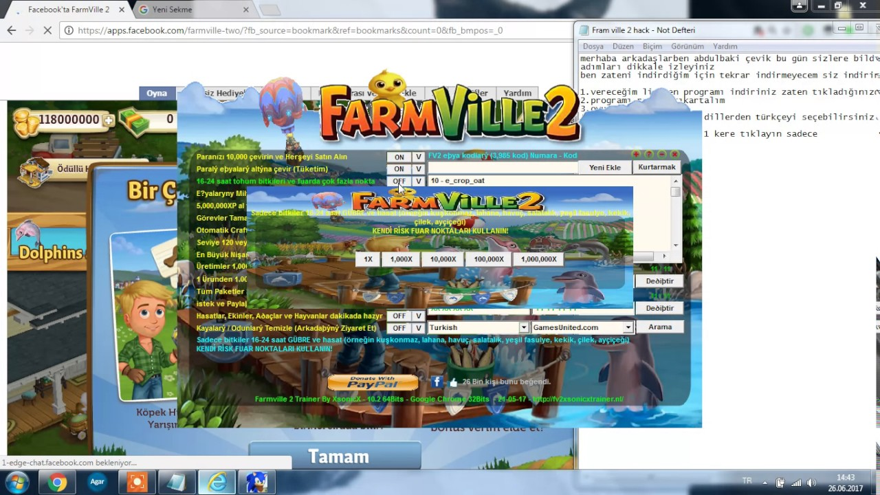 farmville 2 trainer