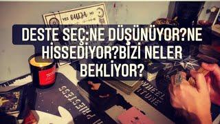 Deste Seç:Ne Düşünüyor?Ne Hissediyor?#Aşk#İlişki#Eril#Dişil#Ruheşi#Ruhikizi#Tarot#Tarotokuması