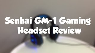Senhai GM-1 Gaming Headset Review + microphone test | Headset For PC & PS4 | Only $22?