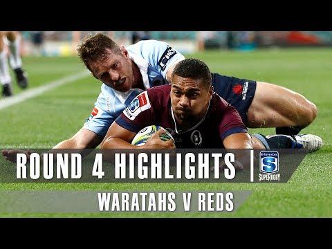 ROUND 4 HIGHLIGHTS: Waratahs v Reds – 2019